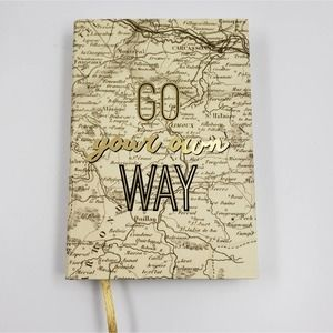 New Journal Travel Eccolo Go Your Own Way
